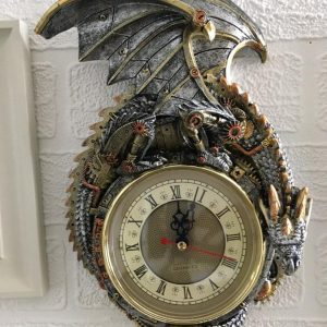 steampunk dragon clock