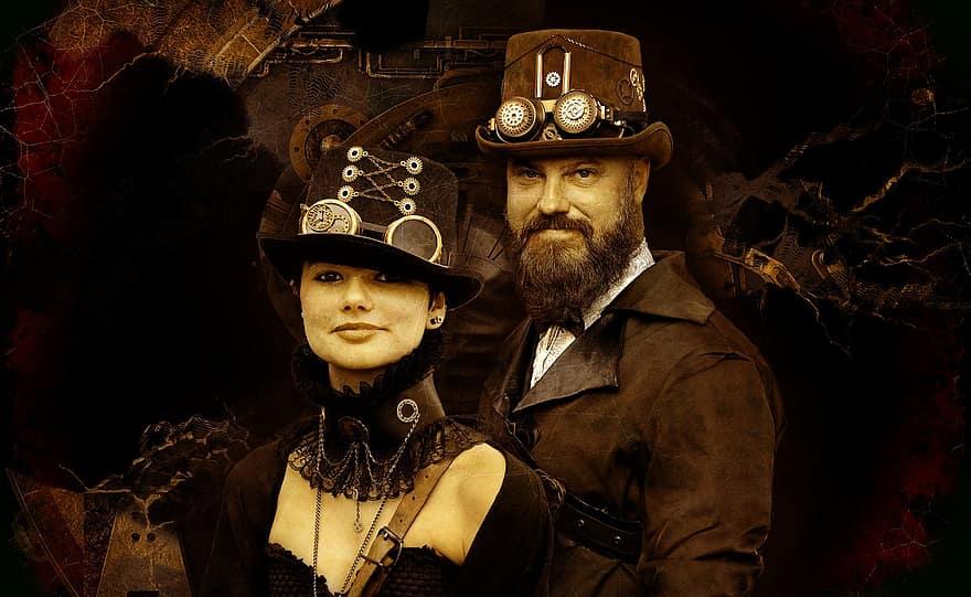 When was steampunk era?