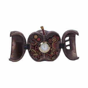 Steampunk Forbidden Fruit Apple Clock