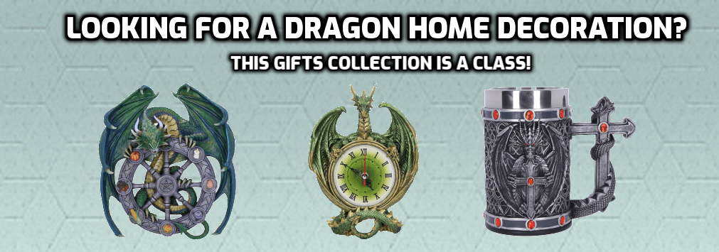 Looking for a Dragon Home Decoration? This Gifts Collection is a Class!