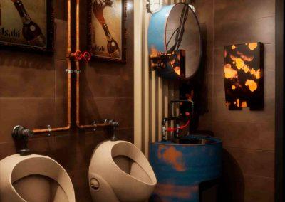 Alvin Guo steampunk Bathroom