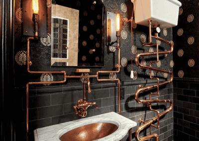 Doctor who steampunk Bathroom