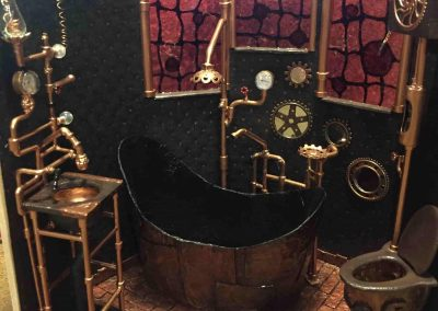 Steampunk Mini Bathroom