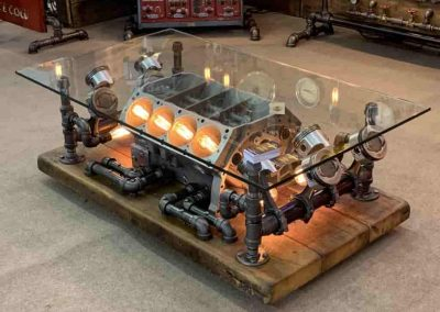 Amazing Steampunk Table